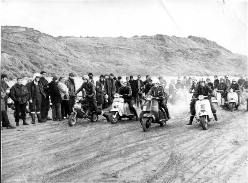 1970 IOW scooter rally
